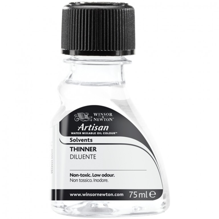 Artisan water-mixable oil thinner