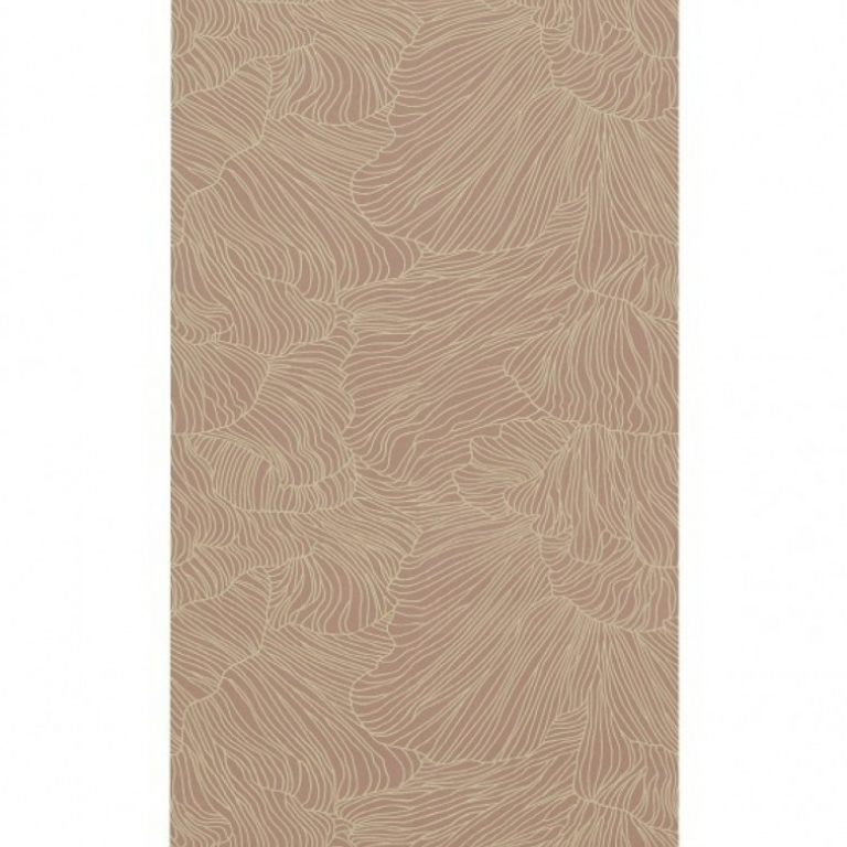Ferm Living Tapet 538 - Coral Rose/Beige