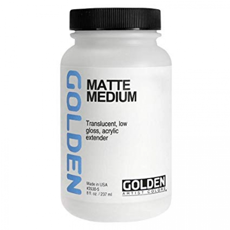 Golden matte medium 473 ml.