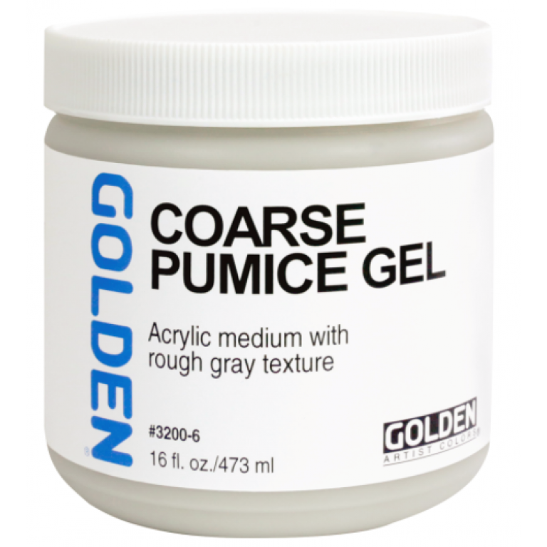 Golden Coarse Pumice Gel 473 ml.