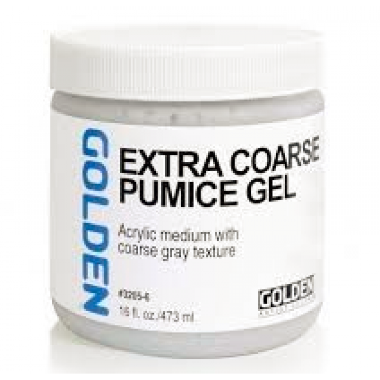 Golden Extra Coarse Pumice Gel 473ml