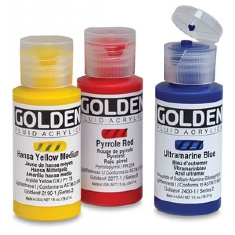 Golden Fluid Akrylmaling 30 ml.