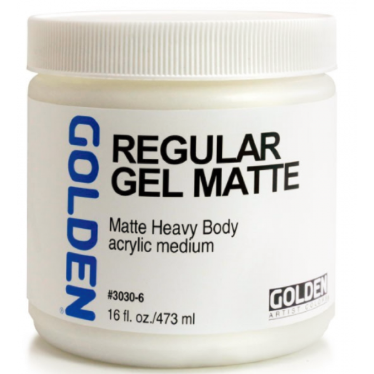 Golden Regular Gel Mat 473ml