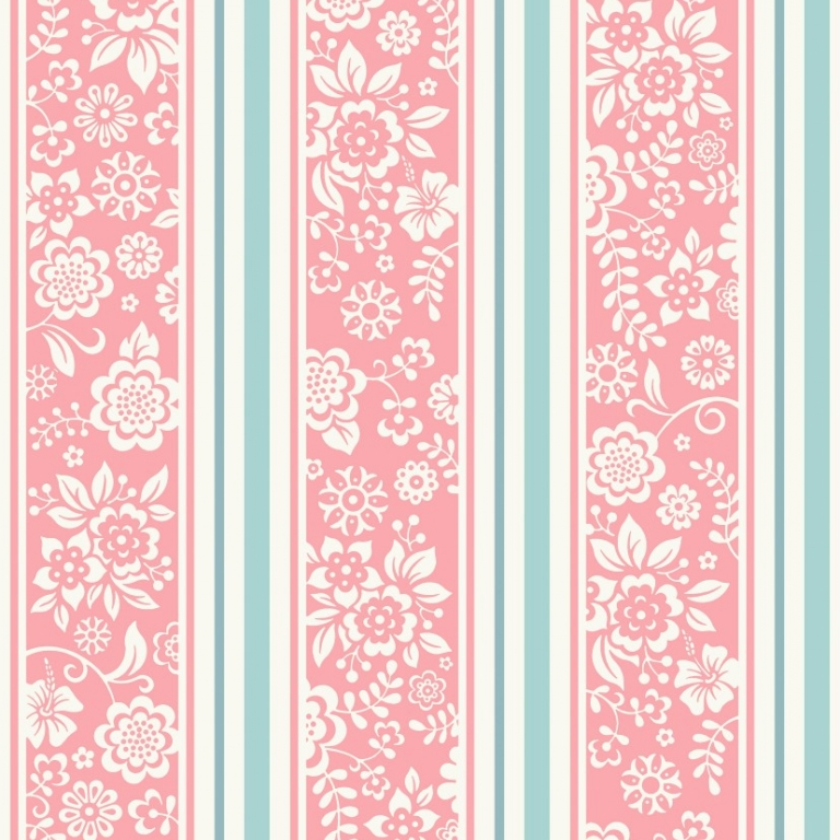 Tapet JR4102 flower stripes