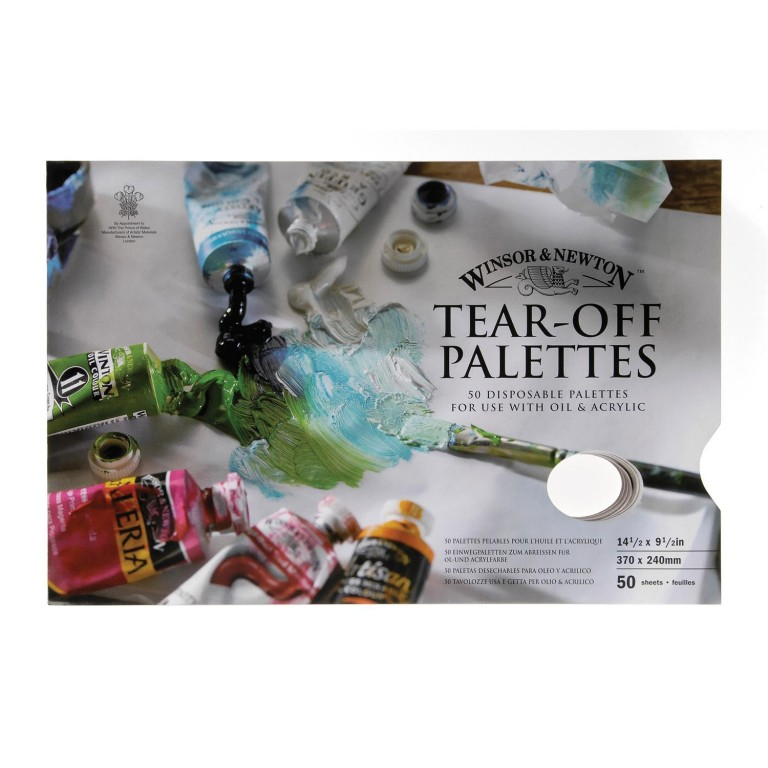 Tear Off palette - Winsor & Newton